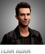 team Adam - Is one of his photos on the voice so so cute