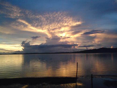 Taken at Beach resort - taken during sunset at beach resort