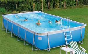 Above ground pool - my preference