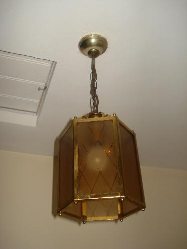 Mum's Old Light To Be Replaced By Our 3-Arm Versio - Mum's Very Old Light Fitting