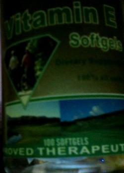 vitamin e softgel capsule - This became my skin's lifesaver