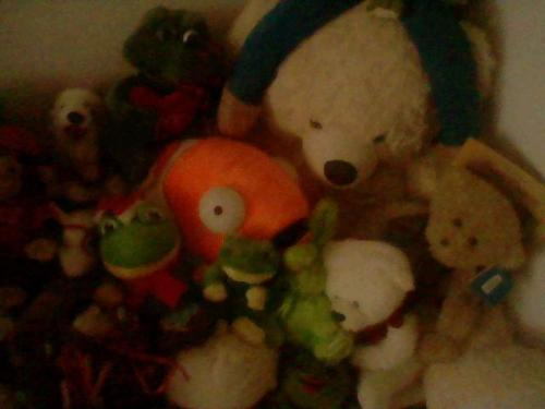 Stuffed Toys - These are the many kinds of stuffed toys that we have :)