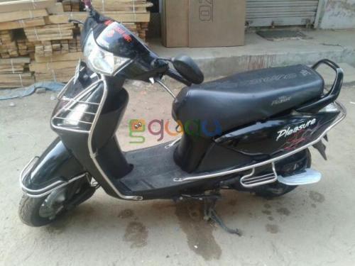 Pleasure a two wheeler - I am using black color pleasure