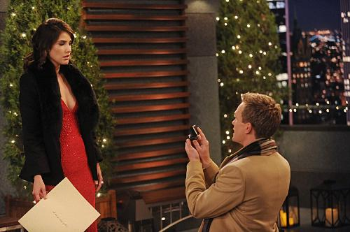 Barney Proposing Robin - The great proposal!