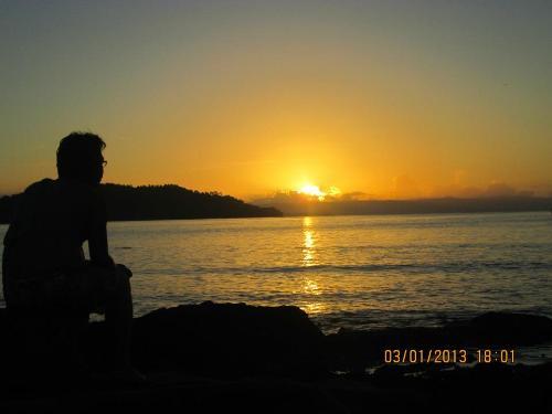 Sunrise - Me watching sunrise while on beach resort
