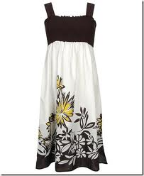 sun dresses  - they look like this but have pretty colors for spring