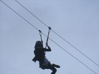 Zipline - fun..fun..fun...