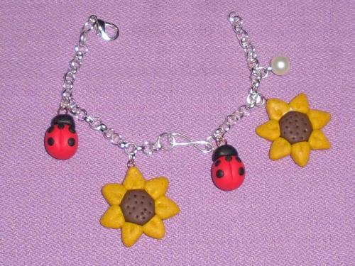 Bracelet handmade - Handmade by me with FIMO :)