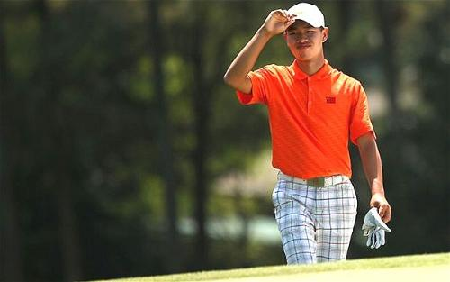 Guan TianLang - Chinese 14 year old who made the cut to play in one of the most prestigious golf tournaments in USA - U.S. Masters (Green Jacket)
