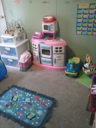 The Kid's Playroom - I really like this room, I painted and did everything myself in it. Maybe that's why I like it so much! Lol.