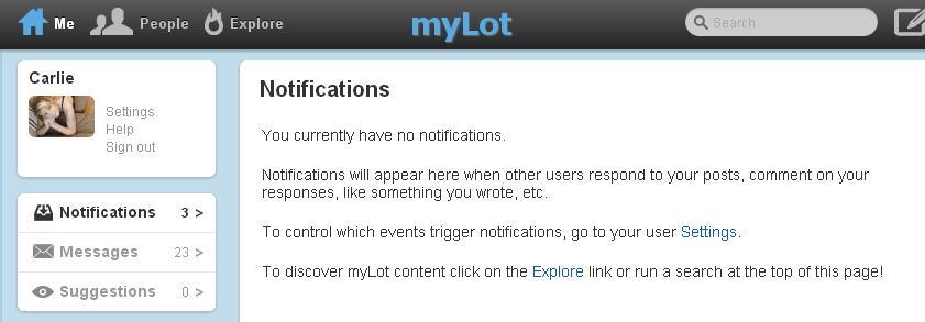 notification error