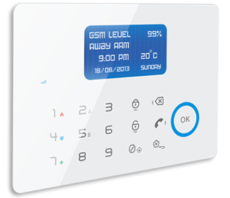 GSM touchpad alarm system G60-Ultimate