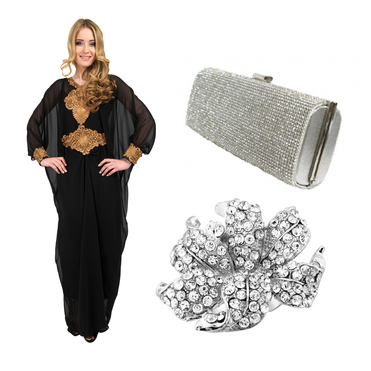 kaftan styles for a formal event