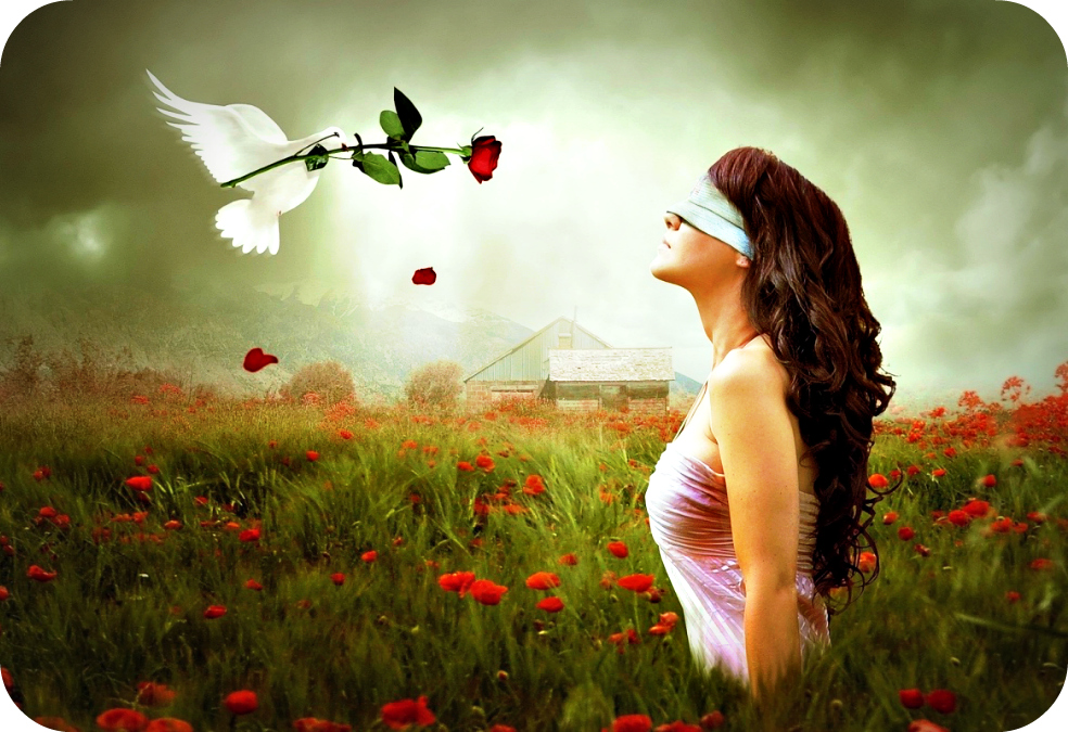 Daily Poetry and Stories Portal - Eyes become Useless when Two Hearts are Blind