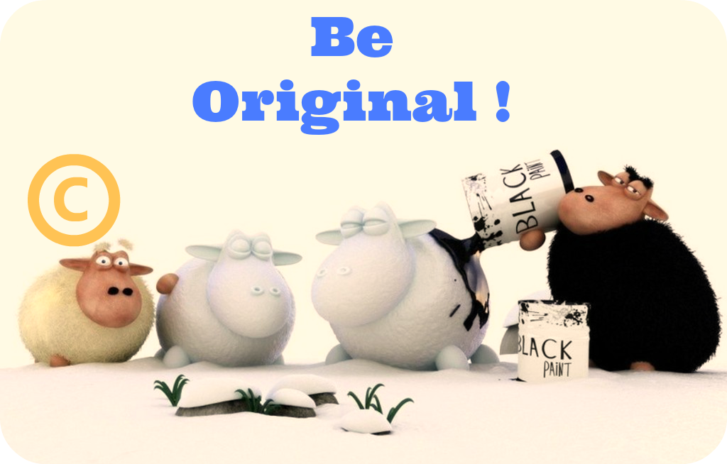 Daily Poetry and Stories Portal - Everybody were Born Original, We do Not have to Become the Clone of Someone Else