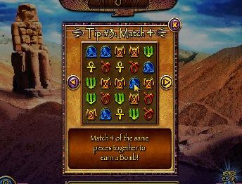 treasure piramid game