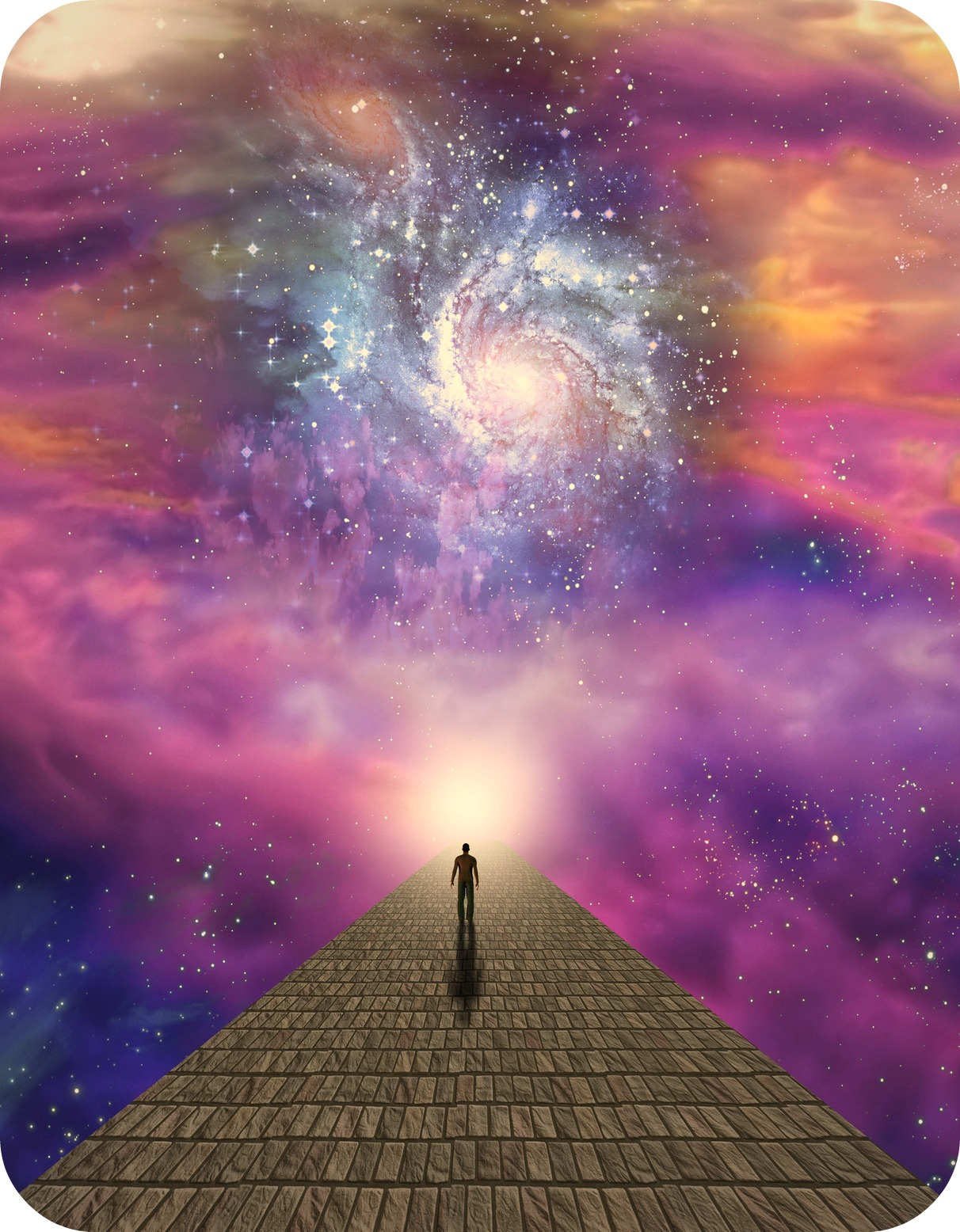 Poetry by Author Jan Jansen - Good Things are Coming into our Path of Life, so Never Stops Walking