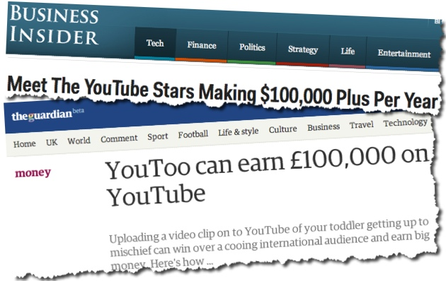 Revenue sharing viral video site helps you make money online sharing viral videos all around the internet.