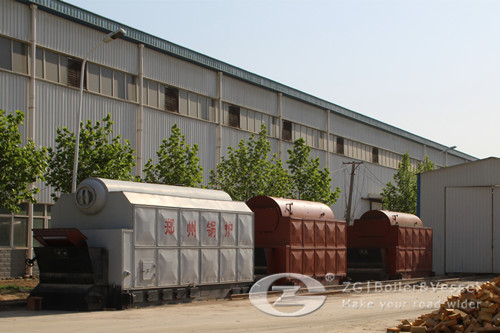IBR sawdust biomass steam boiler