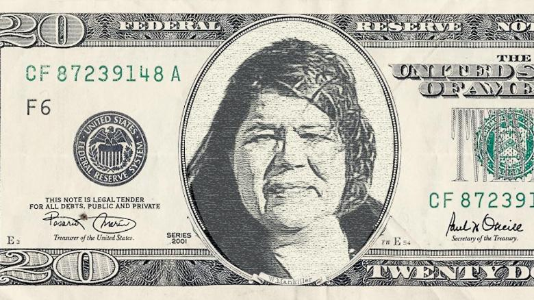 Wilma M on a Bill