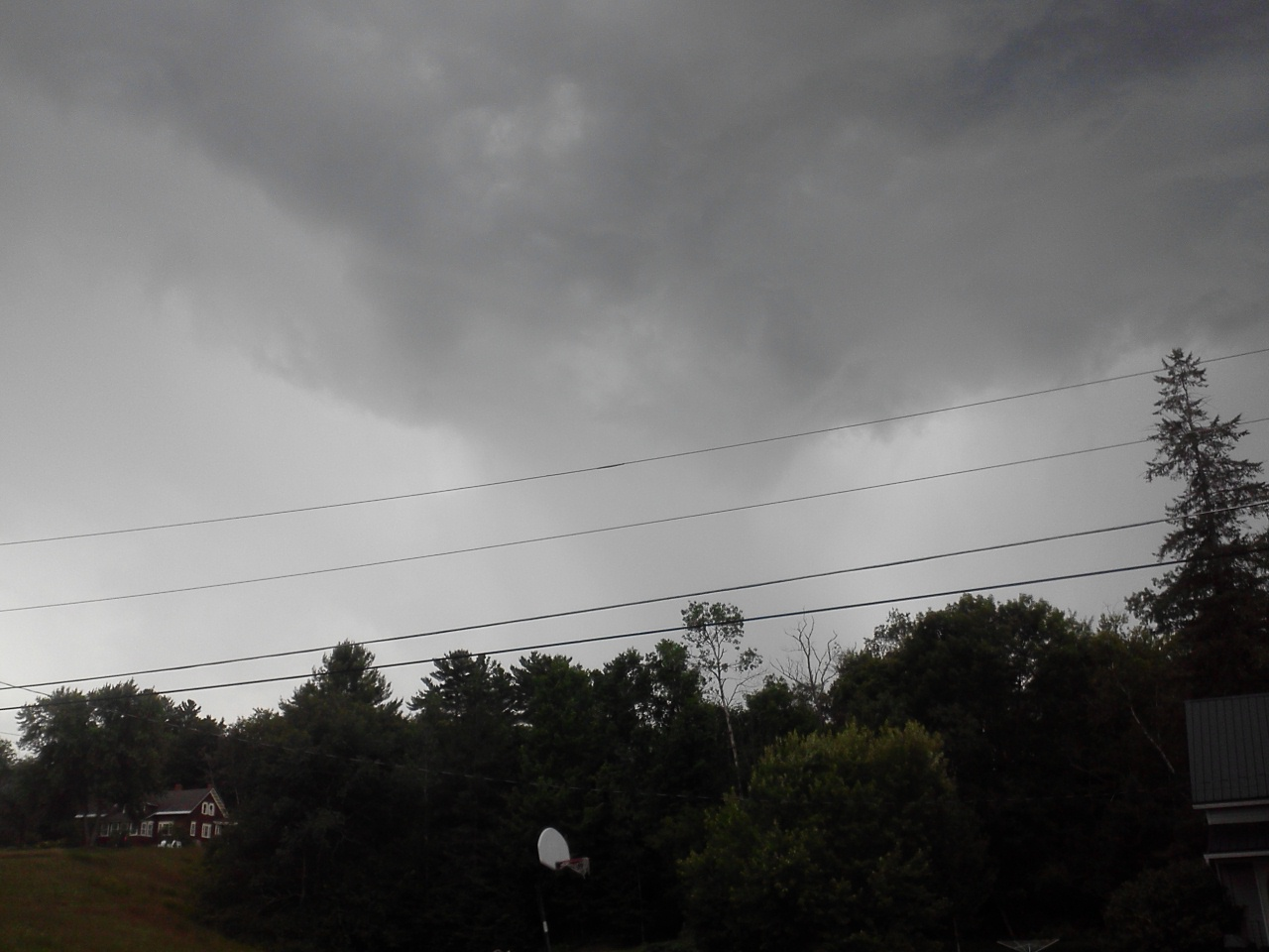 The small but powerfull microburst storm that tore through a circus in my little town