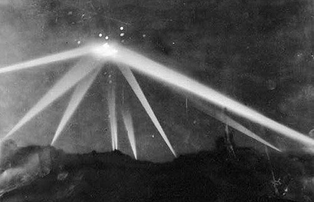 The infamous Battle of Los Angeles UFO 1942
