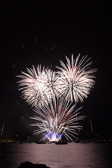 Fireworks tonight in Plymouth, UK