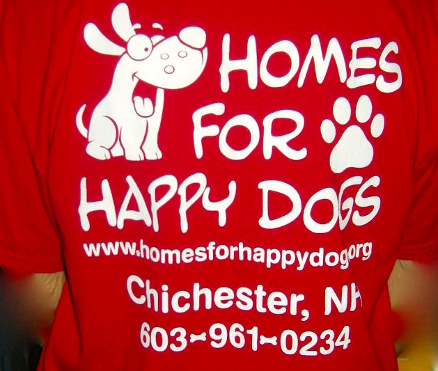 This is Happy Home for dogs.The photo is mine.