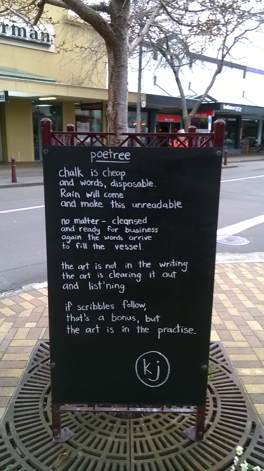 Our local Poetree