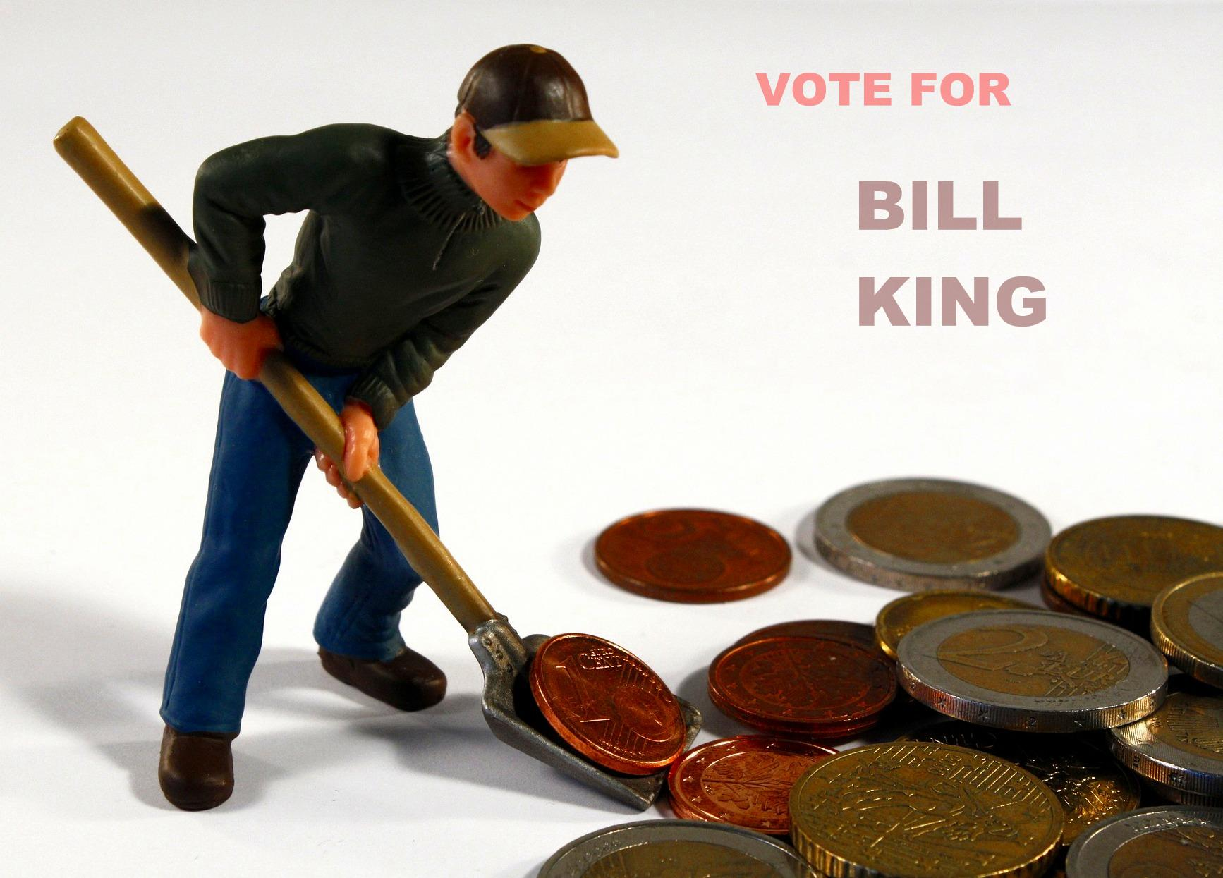 No bilking Bill King