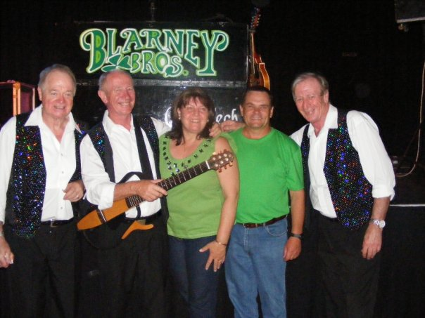 My Birthday with the Blarney Brothers from Ireland
