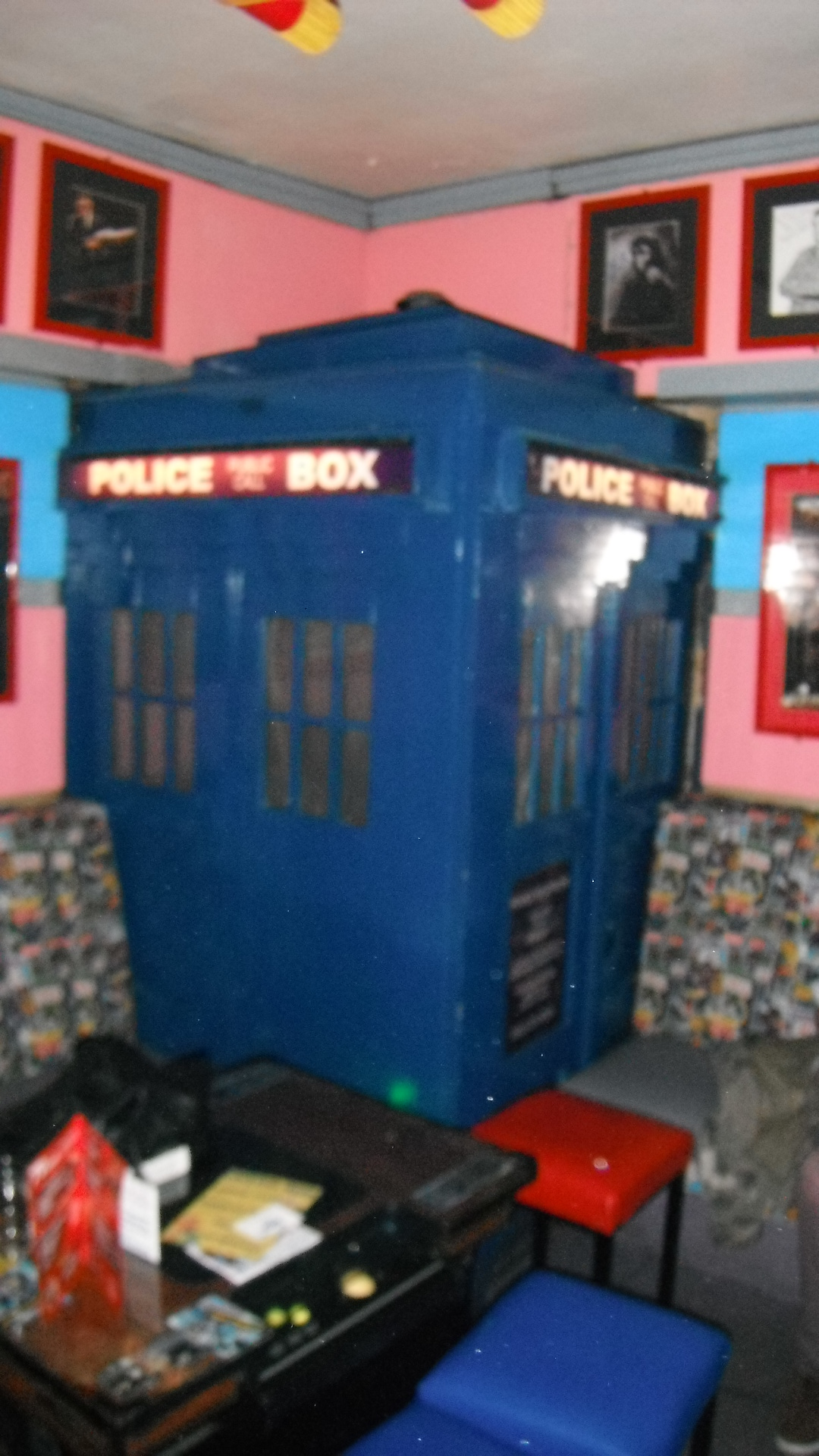 Photo taken by me - The TARDIS in Manchester