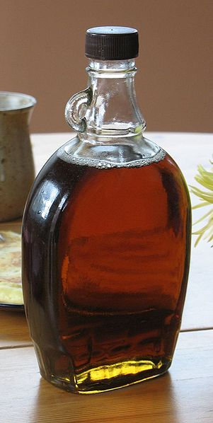 maple syrup credit  https://commons.wikimedia.org/wiki/File:Maple_syrup.jpg