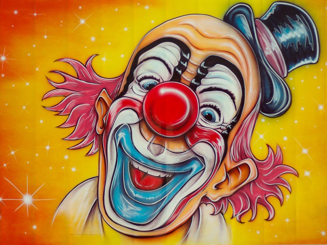 Free Image by pixabay.com circus-clown-disguise-fun-fair-653851