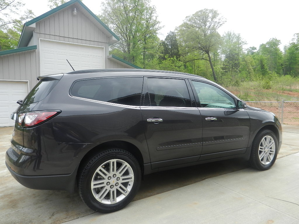 Chevy Traverse with heated seats