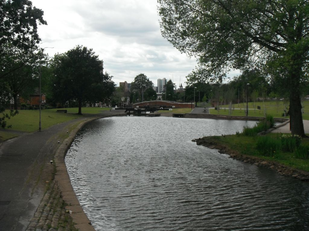 Photo taken by me – The Rochdale Canal, Manchester Miles Platting