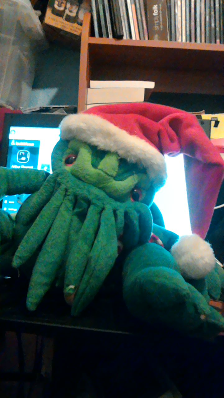 Photo taken by me – The Christmas Cthulhu