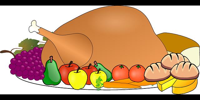 Turkey dinner on a plate!