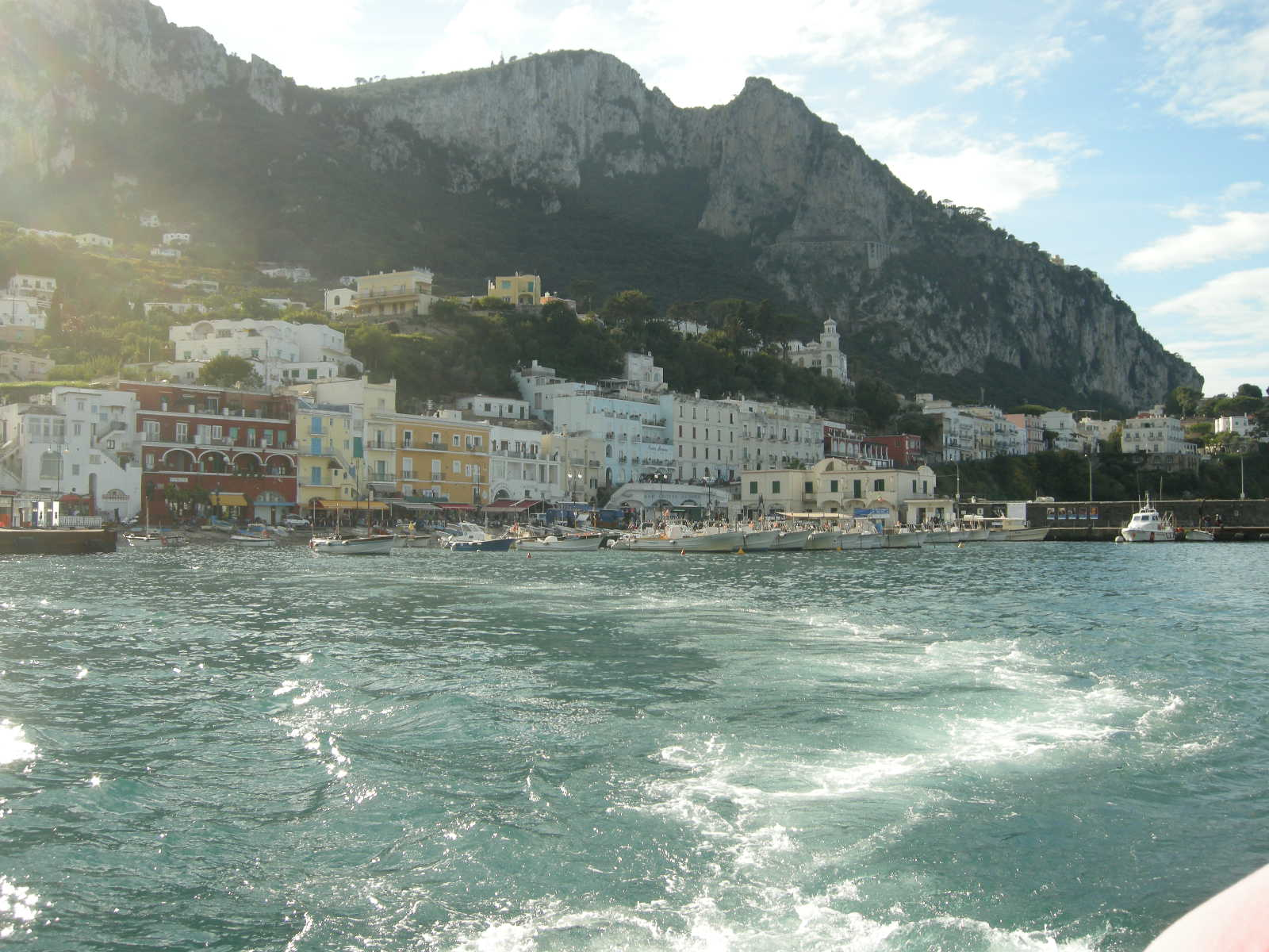 the island of Capri,Italy