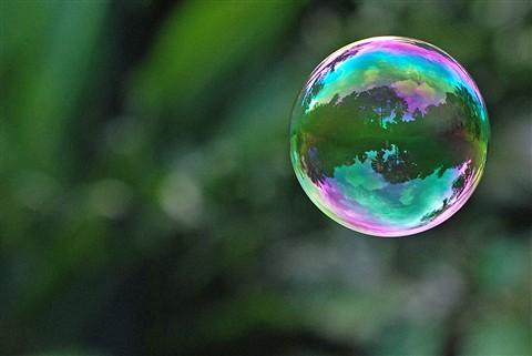 Bubble is gone