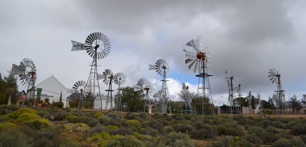 windmills from the windmill graveyard in South Africa