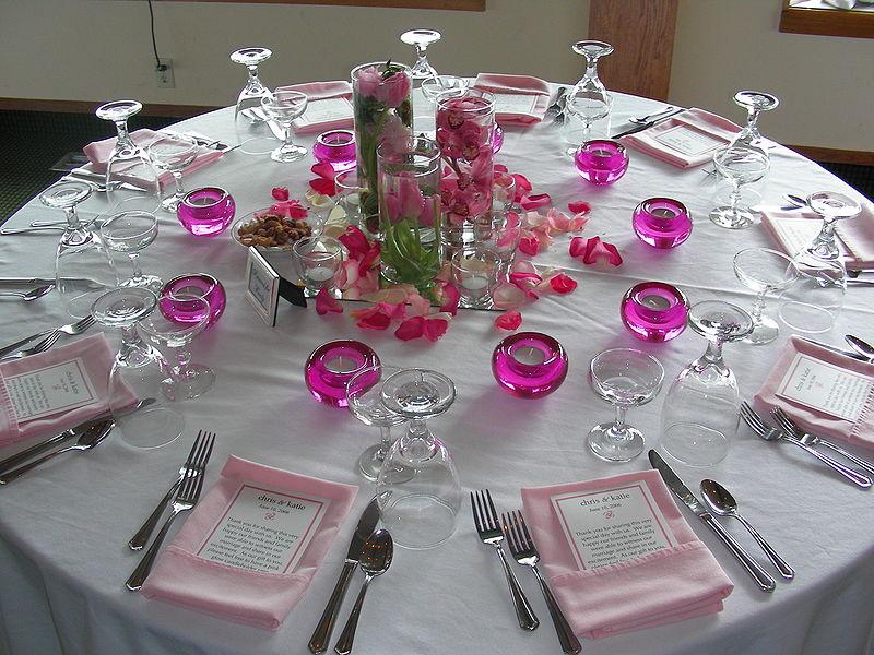 Weddiing banquet  credit  https://commons.wikimedia.org/wiki/File:Wedding_Banquet_setting.jpeg