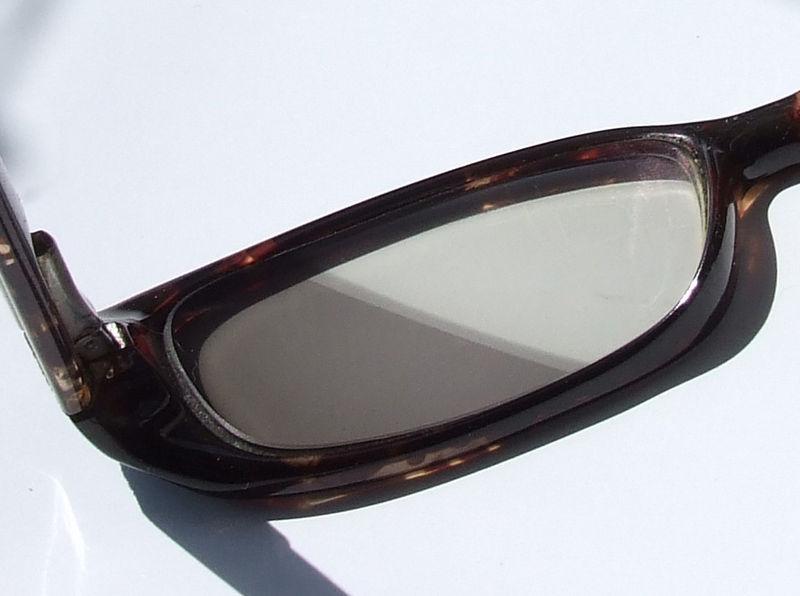 photochromic lenses  credit  https://commons.wikimedia.org/wiki/File:PhotochromicLens.jpg