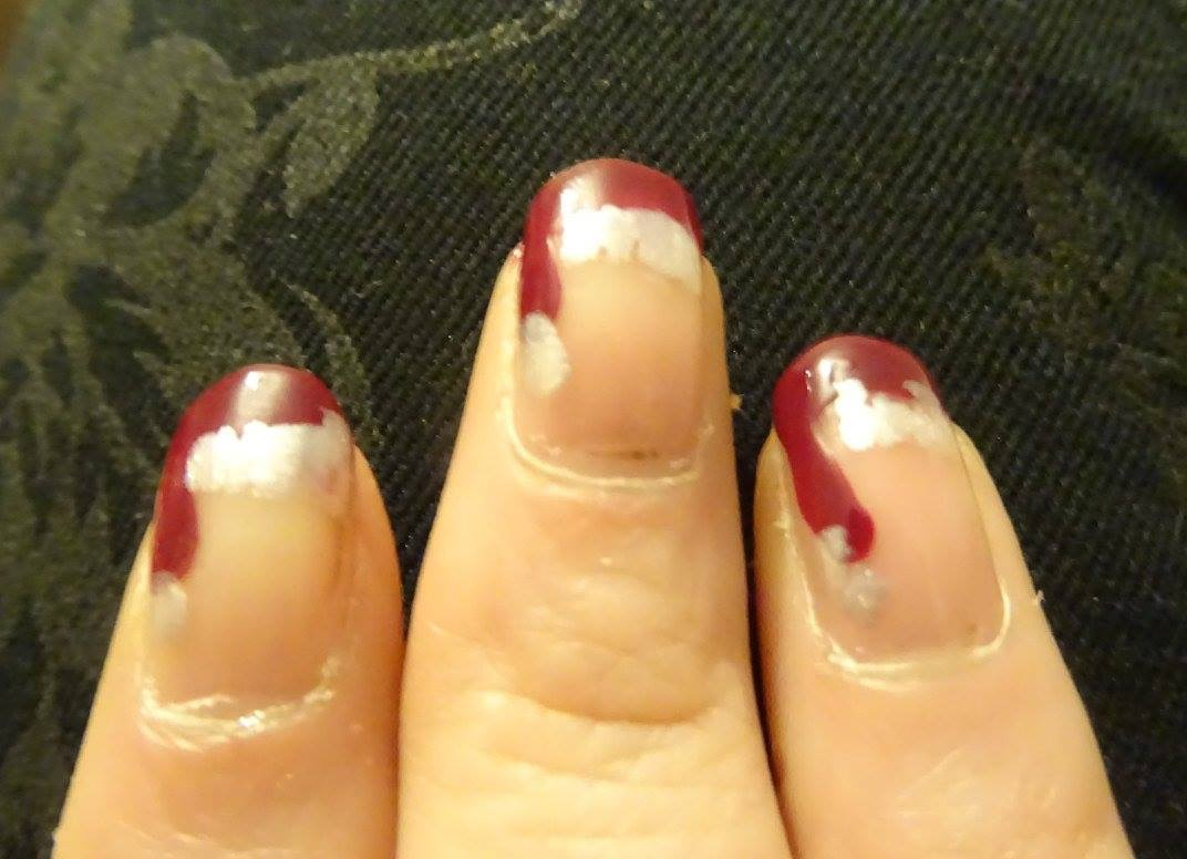Christmas nails by frances