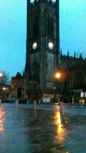 Photo taken by me – Manchester Cathedral