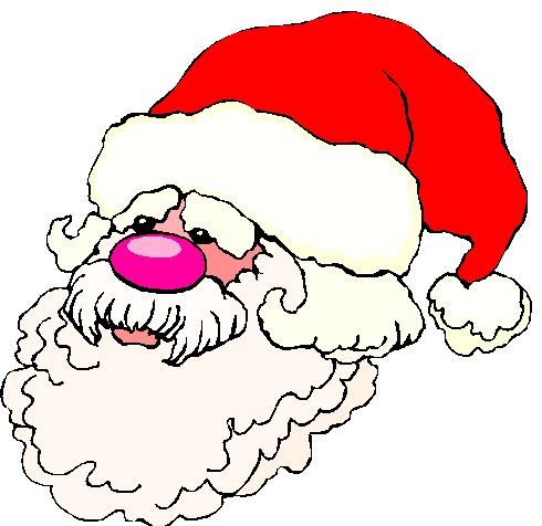 Faithful Santa - Royalty free image.