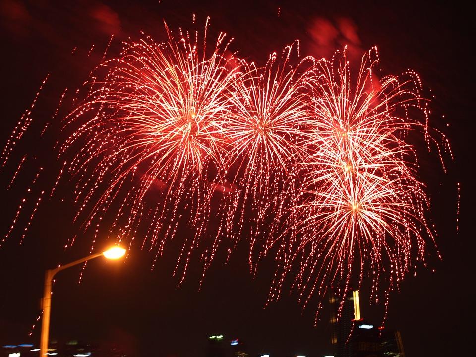 Fireworks image from Pixabay