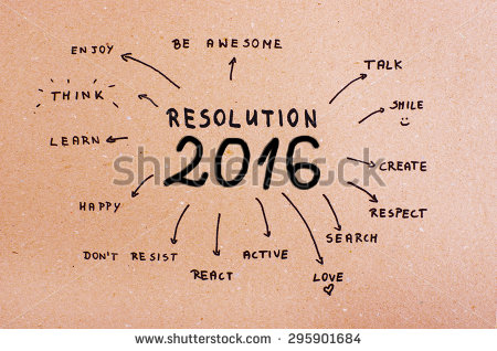 New Year Resolution 2016