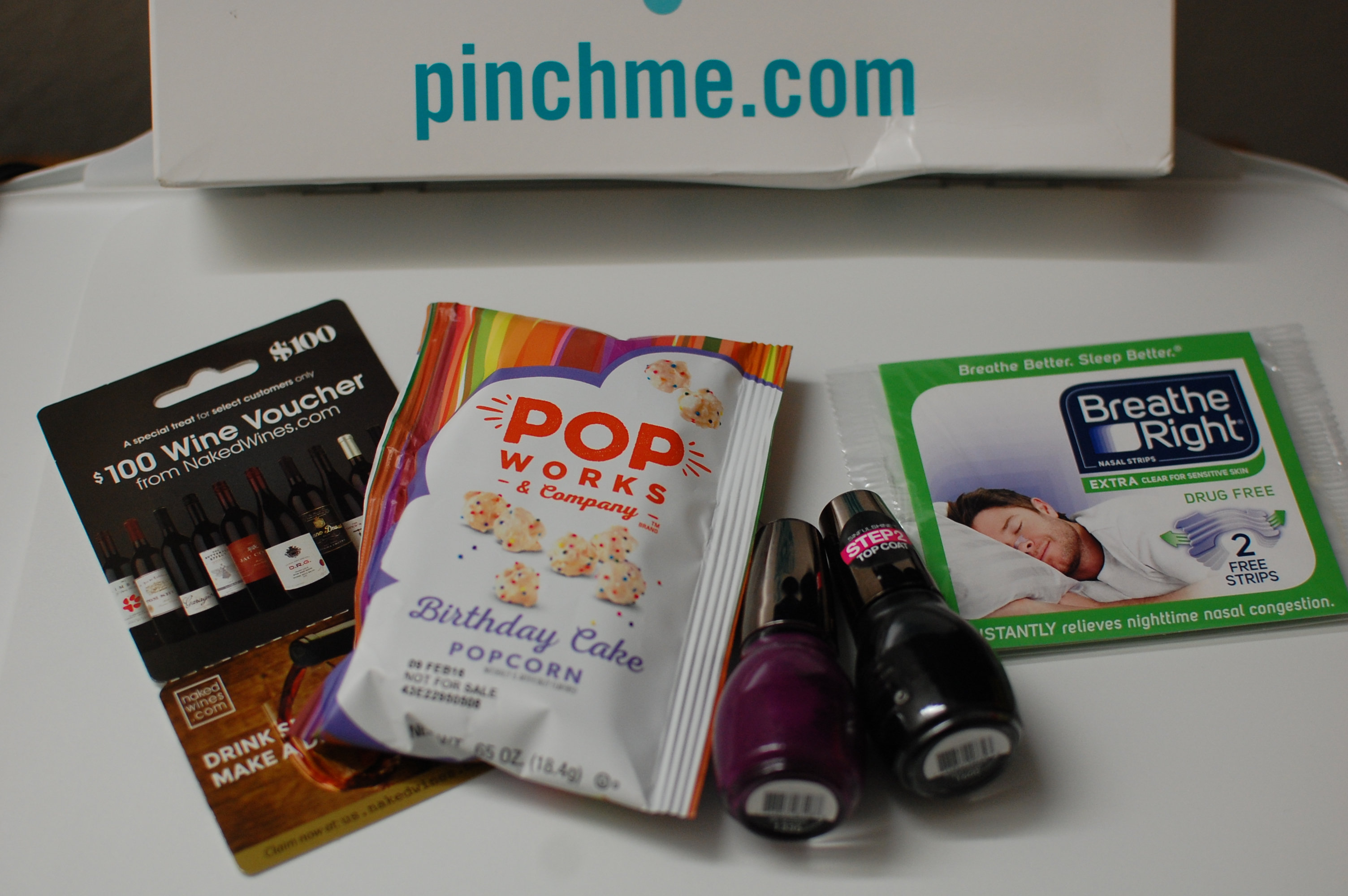 Freebies from PinchMe!