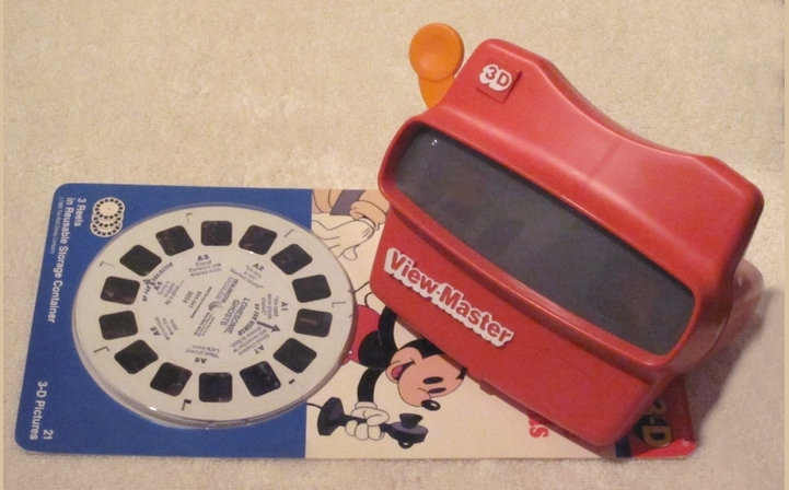 The View-Master with slides - photo by LadyDuck